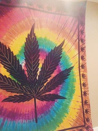 pants flag hippie atztec batik diy peace weed marijuana