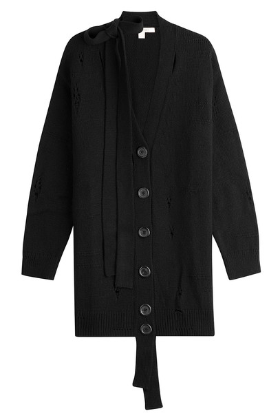 Marc Jacobs cardigan cardigan wool black sweater