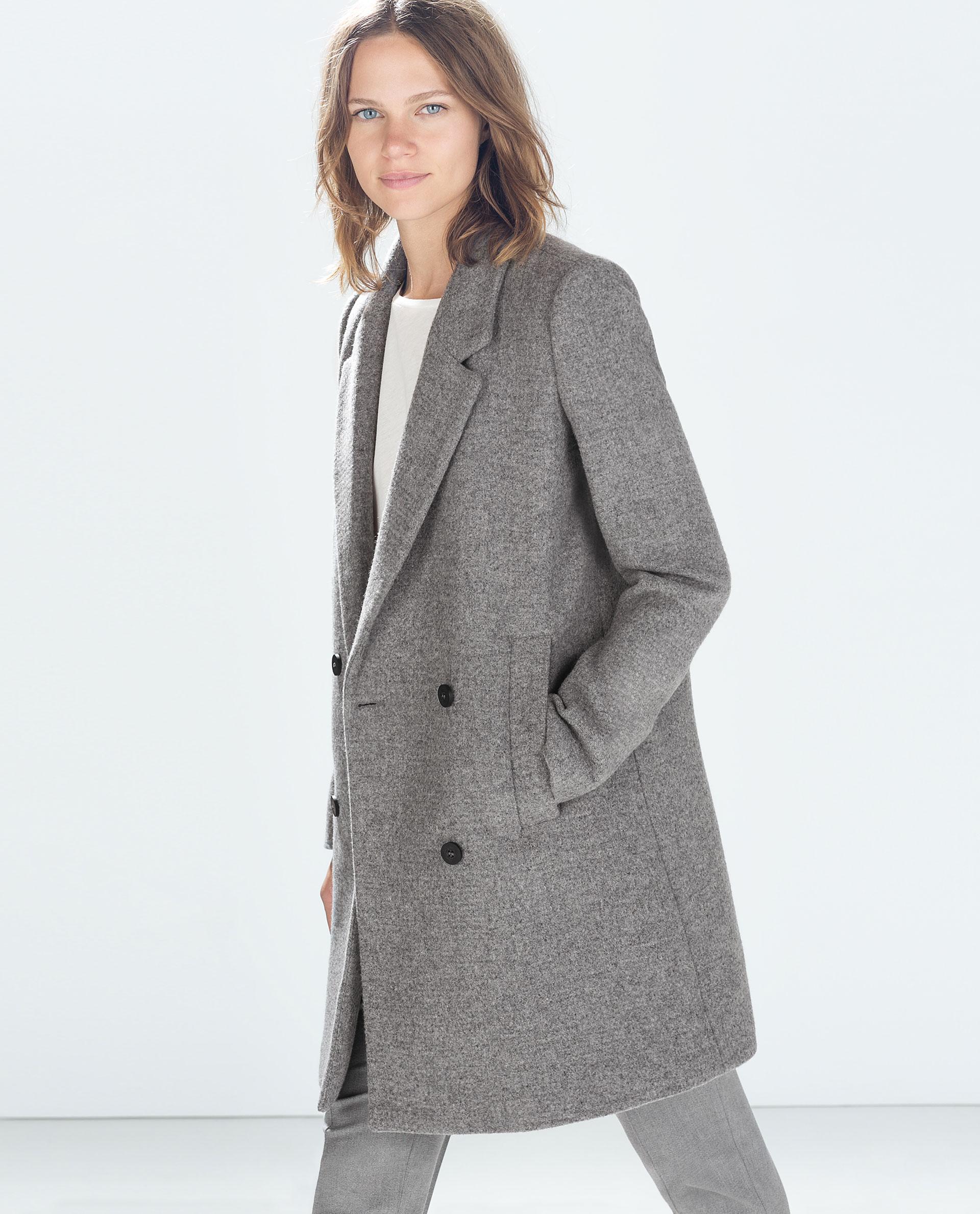 d4232ab3 STRUCTURED COAT - Outerwear - TRF | ZARA Serbia