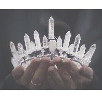 hair accessory crystal magic witch cute mystic gem gemstone crown tiara princess elf