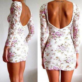 dress floral dress flowers white green rose girl lace dress white floral short dress floral pink party dress short
