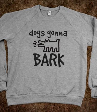 Janoskians dogs gonna bark janoskians skreened t for Organic custom t shirts