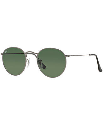 7d161460ee5f Ray-Ban Sunglasses, RB3447 47 ROUND METAL - Sunglasses by ...