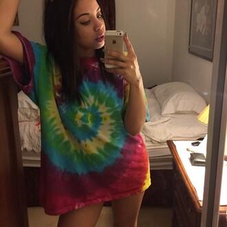 t-shirt jupmer rainbow