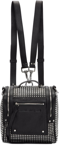 McQ Alexander McQueen mini backpack black bag