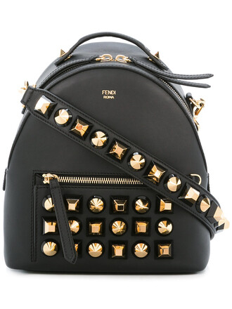 studded backpack studded backpack leather black bag