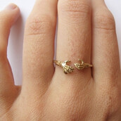jewels,tumblr,ring,claw,skeleton,hispter,gift ideas