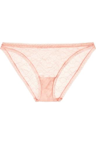 lace pastel pink pastel pink underwear
