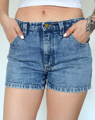 shorts jeans levis denim vintage