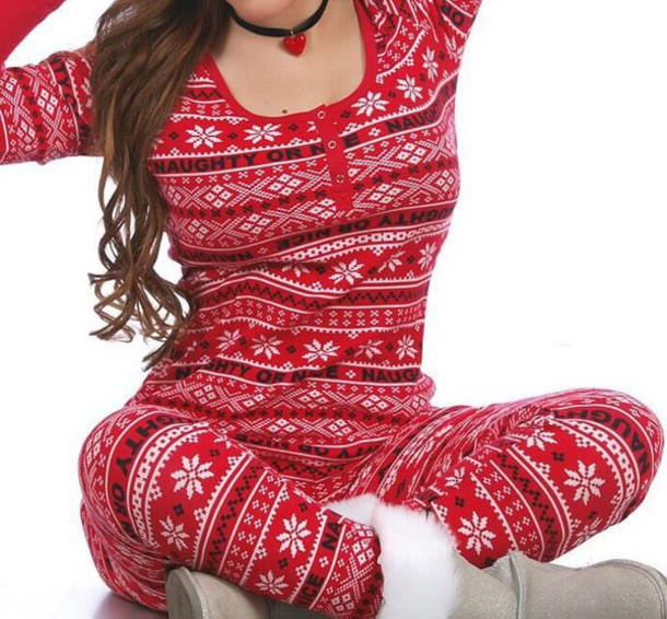 da50777eb1a pajamas naughty or nice christmas christmas pajamas christmas leggings christmas  pyjamas home girl pajamas sexy