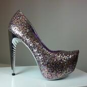 shoes,lady couture,high heels,glitter,almond toe pumps,pumps,stilettos,party shoes