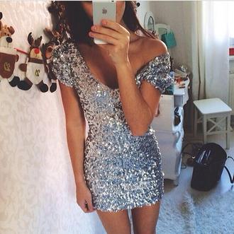 dress sparkle sparkly dress sparkly fashion clubwear night dress clubwear
