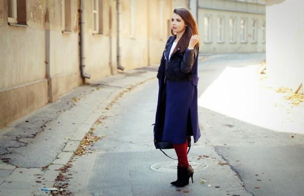 a piece of anna blogger bag t-shirt coat