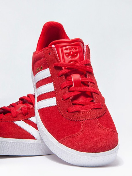 new concept eb6e3 2ce51 shoes adidas originals adidas sneakers red gazelle streetwear streetstyle
