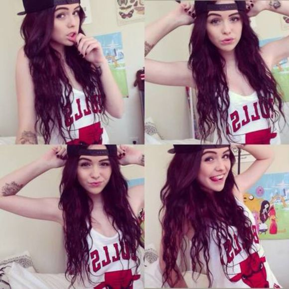 acacia clark tank top chicago bulls