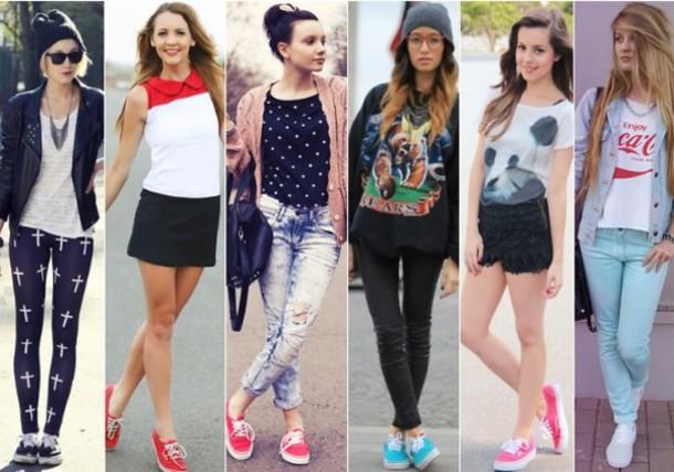 pants, jeans, sweatshirt, bonnet, shoes, bag, skirt, jupe ...