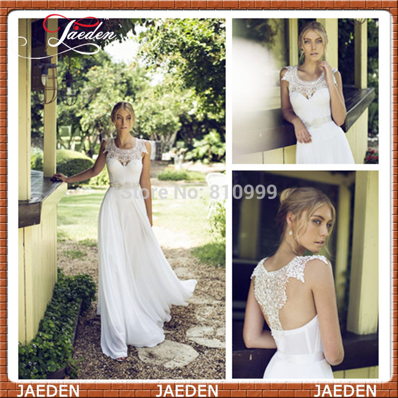 Aliexpress.com : buy 2014 new free shipping romantic lady chiffon lace white evening dress special occasion woman formal party bandage gown custom from reliable dresses sale suppliers on suzhou jaeden garment co., ltd.
