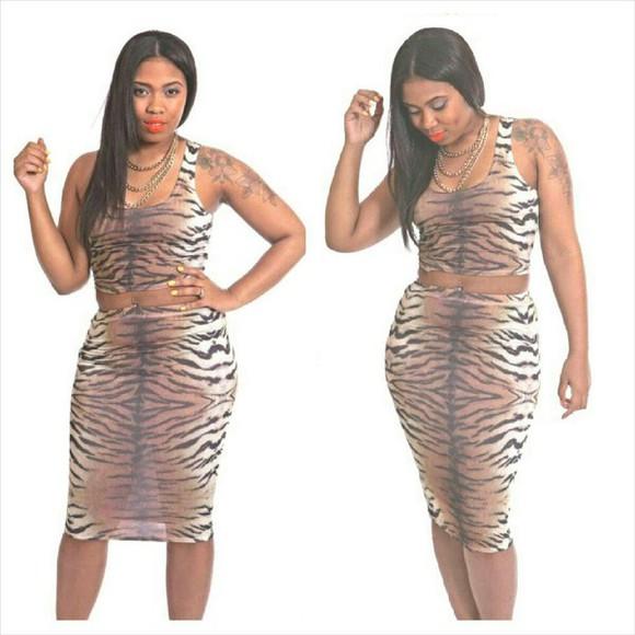 bodycon dress leopard print