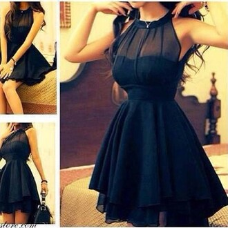 dress black dress skater dress little black dress black skater dress