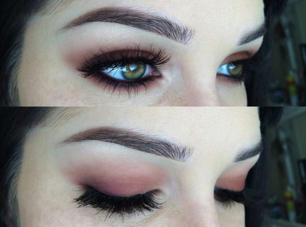 T shirt make up make up eye shadow cosmetics eye for Tattooed eyebrows tumblr