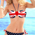 Strapless Bandeau Polka Dot Fashion Bikinis : KissChic.com