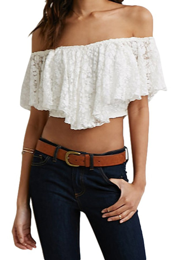 c8bd498283 Shoppable tips. Best tips.  20. Unbranded. ebay.com. Sexy Women Lace Crop  Cropped Tank Top Sheer Blouse Bralette Bra Boho Chic