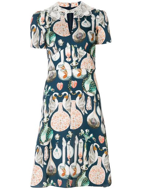 Temperley London dress women love blue