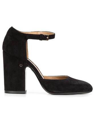 women sandals leather suede black velvet shoes