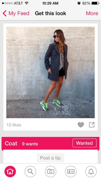 miley cyrus dope instagram jacket grey indie hipster