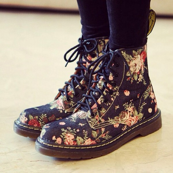 Image result for flower boots