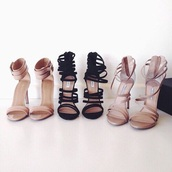 shoes,high heels,nude heels,heels,black,nude,high heel sandals,prom,strapped heels,sexy,summer,beige,formal,luxe,luxury,glamour,designer,cute high heels,cream,tumblr,gold,straps,money,bitch,dope,clothes,bad bitches link up