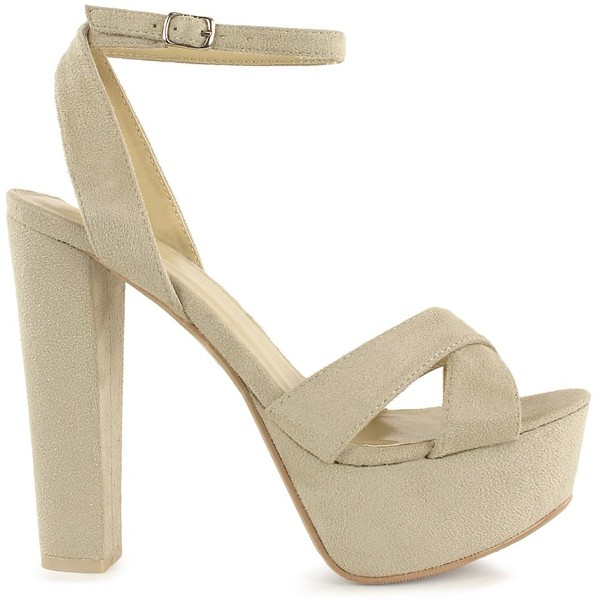 Nly Shoes Cross Toe Platform Pump