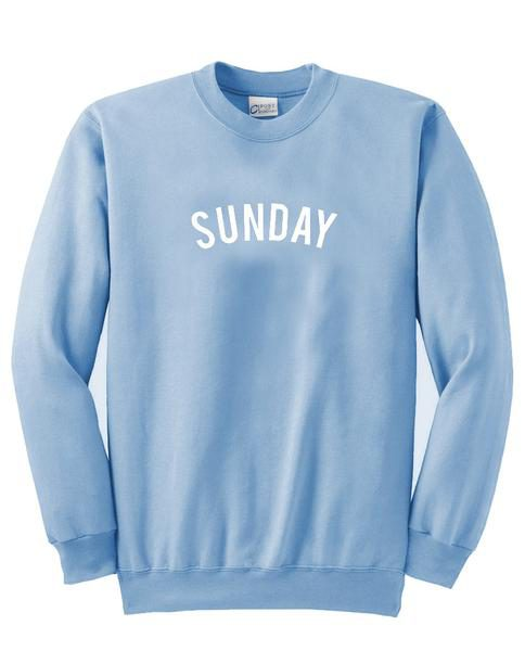 Sunday holyday sweater gift sweatshirt unisex adult