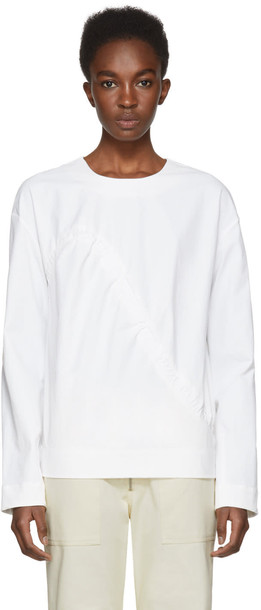NOMIA blouse tunic white top