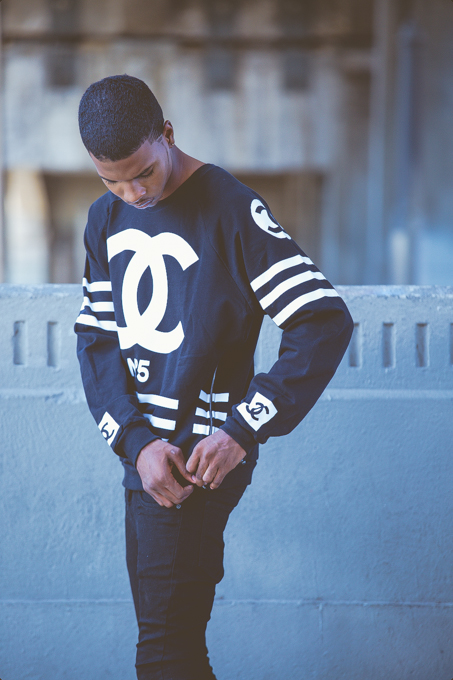 Coco hockey sweater black — homme femme la