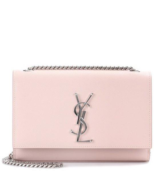 Saint Laurent bag crossbody bag leather pink