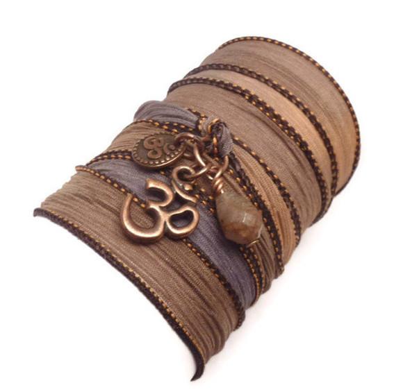 jewels bracelets wrap bracelet silk ribbon bracelet