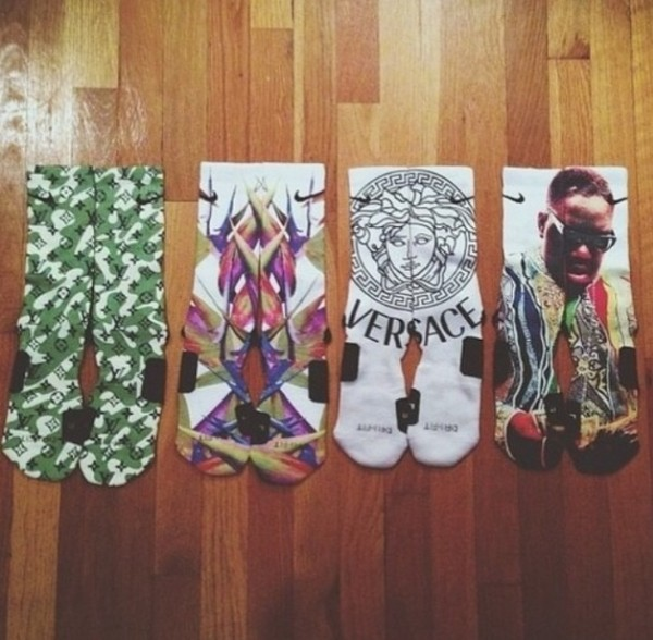 underwear socks versace biggie b.i.g