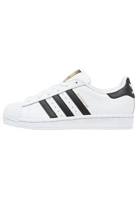 adidas Originals SUPERSTAR - Trainers - white/core black - Zalando.co.uk