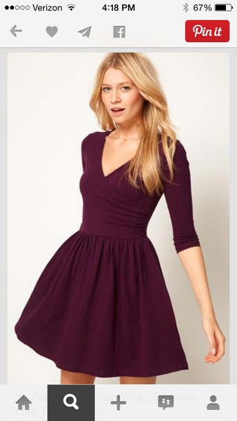 fit and flare wrap dress fit and flare