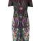 Roberto cavalli - magic carpet dress - women - cotton/viscose - 50, cotton/viscose