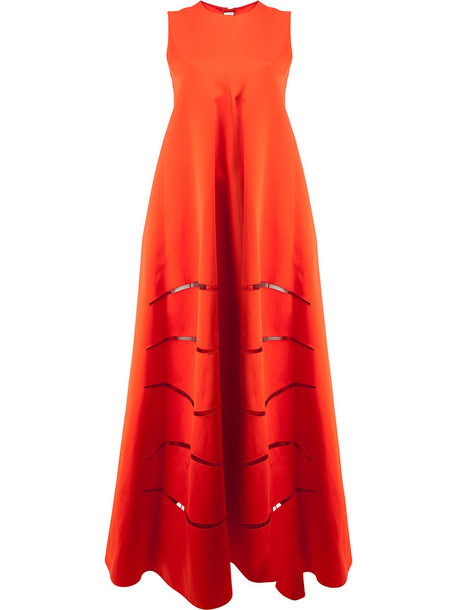 MAISON RABIH KAYROUZ dress women cotton red