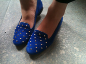 topshop,blue shoes,shoes