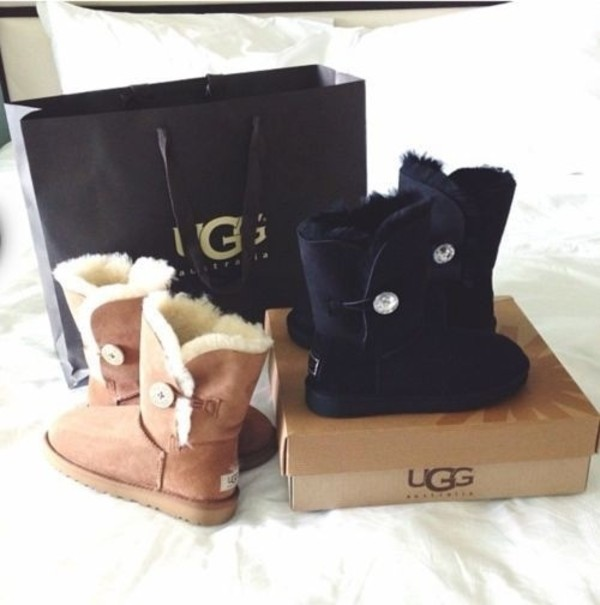 ugg australia bailey button bling triplet