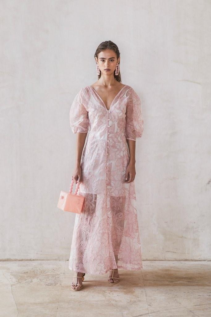 Tilda Dress - Dusty Pink