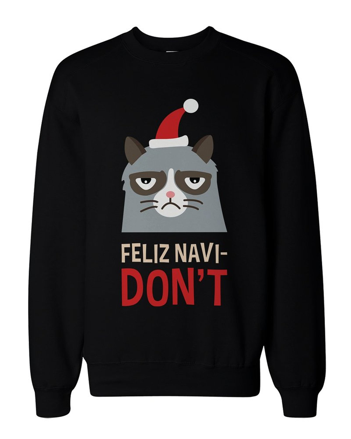 Amazon.com: funny grumpy cat graphic sweatshirt