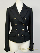 jacket,navy,navy blue jacket,double breasted,army green jacket
