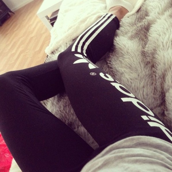 pants tights adidas leggings jeans nike or adidas black adidas leggings