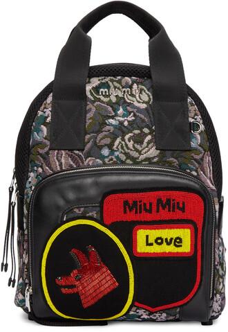 tapestry backpack multicolor bag