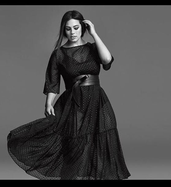 Dress Black Dress Curvy Plus Size Dress Plus Size Ashley Graham